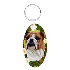 Seasonal Bulldog Keychains