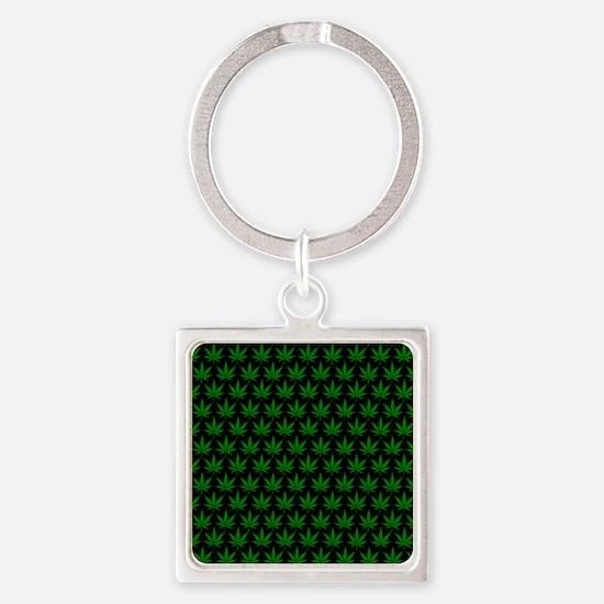 2125x2577flipfloppotleavestiled Square Keychain