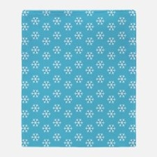 2125x2577flipflopssnowflakes Throw Blanket