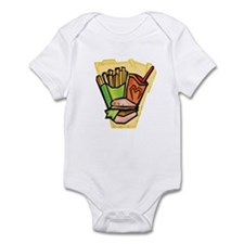 Fast food meal Infant Bodysuit
