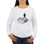 Cat Scan Women's Long Sleeve T-Shirt