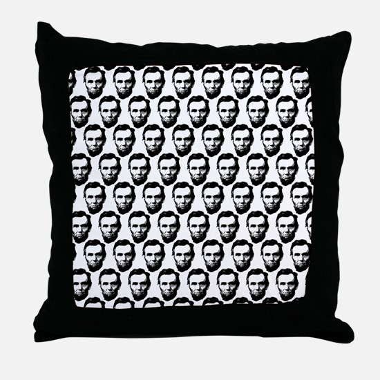 2125x2577flipflopsabrahamlincoln5 Throw Pillow