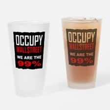occupywllstrt we are the 99 Drinking Glass