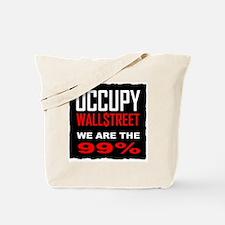occupywllstrt we are the 99 Tote Bag