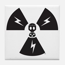 FS Radioactive Black w/ Slogan Tile Coaster