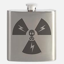 FS Radioactive Black w/ Slogan Flask