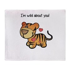Wild About You Throw Blanket