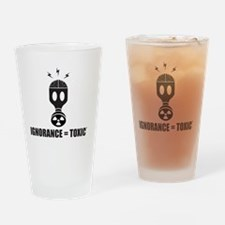 FS Radioactive Black w/ Slogan Drinking Glass