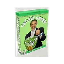 Obamacare Soylent Green Rectangle Magnet