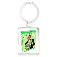 Obamacare Soylent Green Portrait Keychain