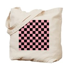 2125x2577flipflopscheckered5 Tote Bag