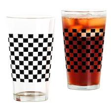 2125x2577flipflopscheckered Drinking Glass