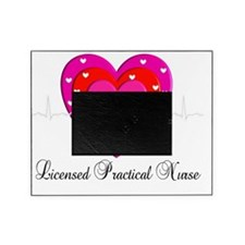 LPN heart pink Picture Frame