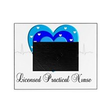 LPN Heart blue Picture Frame