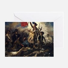 Liberty Leading the People Greeting Card