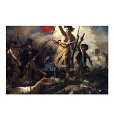 Liberty Leading the Peopl Postcards (Package of 8)