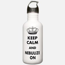 KEEP CALM AND NEBULIZE Water Bottle