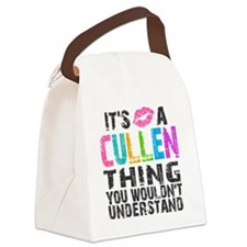 Cullen Thing Colors Canvas Lunch Bag