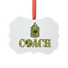 Soccer Coach - Drill Sergeant Ornament