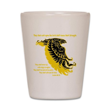 yellow, Isaiah 4031 Shot Glass