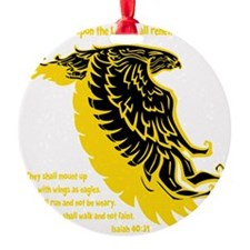 yellow, Isaiah 4031 Ornament