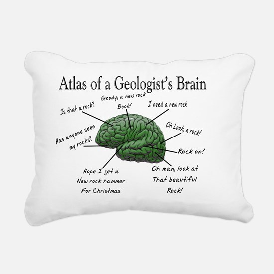 Atlas of a Geologists Br Rectangular Canvas Pillow