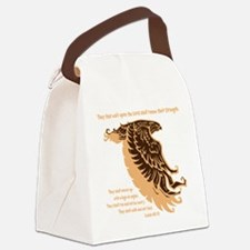 tan, Isaiah 4031 Canvas Lunch Bag