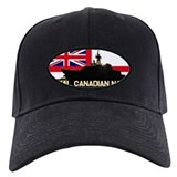 Royal canadian navy black Black Hat