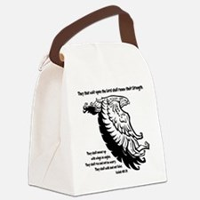 black, Isaiah 4031 Canvas Lunch Bag