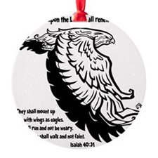 black, Isaiah 4031 Ornament