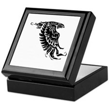 white, Isaiah 4031 Keepsake Box