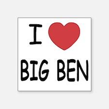 "BIG_BEN Square Sticker 3"" x 3"""