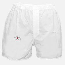 KEEP CALM CLINICALS ON DARK Boxer Shorts