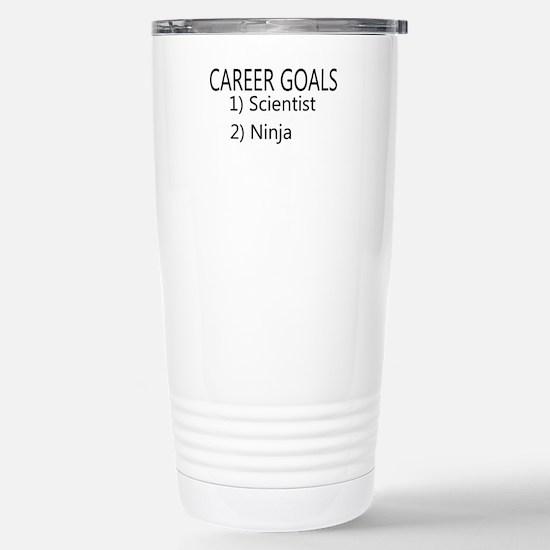 Career goals Travel Mug