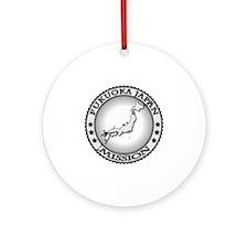 Fukuoka Japan LDS Mission Round Ornament