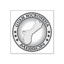 """Guam Micronesia LDS Mission Square Sticker 3"""" x 3"""""""