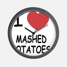 MASHEDPOTATOES Wall Clock