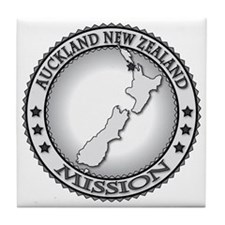 Auckland New Zealand LDS Mission Tile Coaster