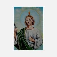 saint Rectangle Magnet