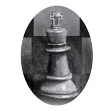 chessp Oval Ornament