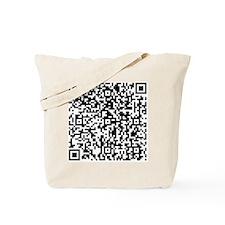QR-Code Tote Bag