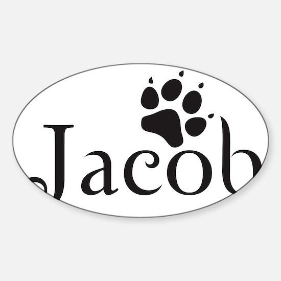 teamjackbut Sticker (Oval)