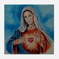 maria-heart Tile Coaster