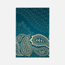 paisley3g Rectangle Magnet