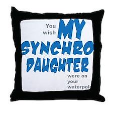 Art-For-Daughter Throw Pillow