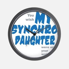 Art-For-Daughter Wall Clock