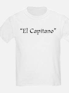 El Capitano Kids T-Shirt