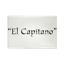 El Capitano Rectangle Magnet (100 pack)
