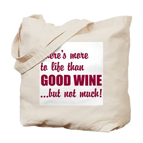 Good Wine Tote Bag