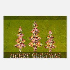 MERRYQUILTMAS Postcards (Package of 8)